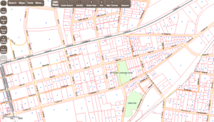 Screenshot of the CMCGIS Community Map Beta