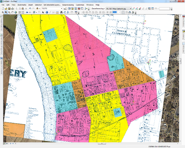 Georeferencing Tool – Rectifying an Image