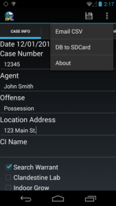 Raid Law Enforcement App